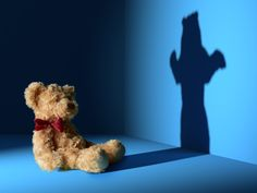 Still life image of the darker side of the cute teddy bear Still Life Images, Cute Teddy Bears, Still Life Photography, Dark Side, The Darkest, Scary, Dinosaur Stuffed Animal, Projects, Animals