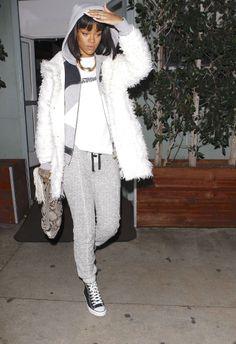 "Rihanna leaving ""Giorgio Baldi"" Restaurant in Los Angeles"