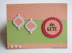 Stampin' Up! Mosaic Madness Geburtstagskarte Birthday Card #cardmaking #stampinup #mosaicmadness