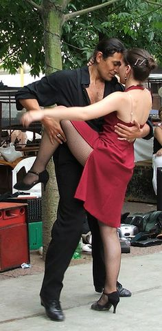 On the streets of Buenos Aires they dance the Argentine Tango.