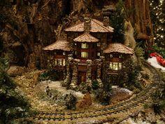Ahwahnee Lodge at Jingle Rails | by Pandora-no-hako