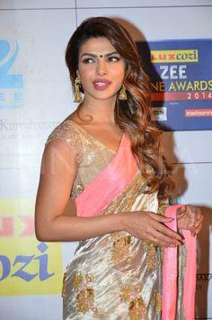 Priyanka Chopra at the Zee Cine Awards 2014   PINKVILLA