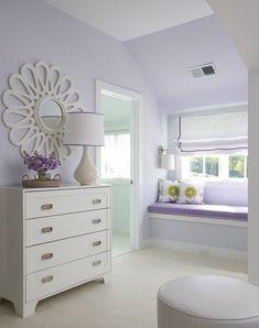Lovely Lavender - Design Chic #Homes #HomeDecorators #LivingRoomIdeas