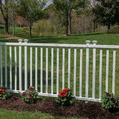 Zippity Outdoor Products 4 ft. H x 3 ft. W Huntersville Privacy Screen   Wayfair Vinyl Picket Fence, Vinyl Gates, Vinyl Fence Panels, Garden Fence Panels, Garden Fencing, White Vinyl Fence, Fence Gate, Dig Gardens, Outdoor Gardens