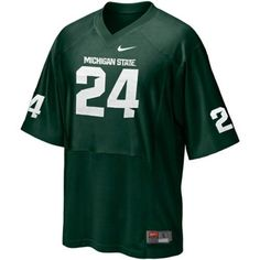 Michigan State Spartans #24 Youth Replica Football Jersey « Ever Lasting Game