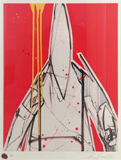 Bid now on Pointman (red) by Futura 2000 (Lenny McGurr). View a wide Variety of artworks by Futura 2000 (Lenny McGurr), now available for sale on artnet Auctions. Graffiti, Limited Edition Prints, Techno, Contemporary Art, Street Art, Art Pieces, Illustration Art, Auction, Urban
