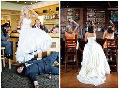 Questões de Opinião: Fotos Criativas para Álbuns de Casamentos