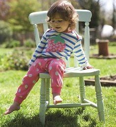 strawberry top and parsnip pants #frugi #kidsfashion #organic