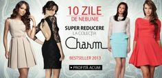 Colectia CHARM -25% si Cosmetice L'Oreal Ieftine