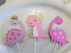 Check out our girly dinosaur party supplies selection for the very best in unique or custom, handmade pieces from our shops. Dinasour Birthday, Girl Dinosaur Birthday, Dinosaur Birthday Invitations, Third Birthday, 3rd Birthday Parties, Birthday Party Decorations, Birthday Ideas, Dinosaur Party Supplies, Banner