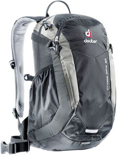 Deuter is one of the leading backpack brands worldwide. The German brand repeatedly revolutionized the market with innovations such as the first ventilated back system. North Face Backpack, Black Backpack, Backpack Brands, Fashion Fabric, Black Silver, 18th, Bike, Backpacks, Shopping