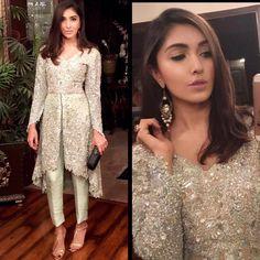 Sparkling Couture #TenaDurrani #Pakistan #Design #Beauty #Mint #Silver…