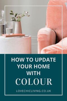 Colourful home decor ideas for a bright, modern, bohemian home. Whether you want a pop of colour, some neutrals, pastels or vibrant shades, these designs will help you create a vintage, cozy space. #lovechicliving