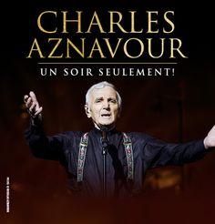 Charles Aznavour au Centre Bell de Montréal en octobre | HollywoodPQ.com