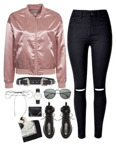 """""""#842"""" by bella2015 ❤ liked on Polyvore featuring NLY Trend, WithChic, ASOS, Balenciaga, Lilou, Retrò, Daniel Wellington, STELLA McCARTNEY and Chanel"""