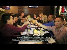 Mobilizing People Marketing (MPM) Restaurant Invasion of Embers Grille + Spirits in Las Vegas