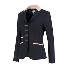 Rosegold Show Jacket. Worn by International top riders. Show Jackets, Merino Wool, Glamour, Blazer, Elegant, Tops, Fashion, Classy, Moda