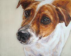 PaintMyDog news! - Latest dog portrait - Jack Russell Terr… | Flickr