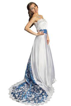 African wedding dress on pinterest africans nigerian for Asian inspired wedding dress