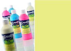 Nachtleuchtfarbe 250 ml, gelbgrün [Spielzeug]