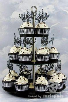 Musical  cupcakes.