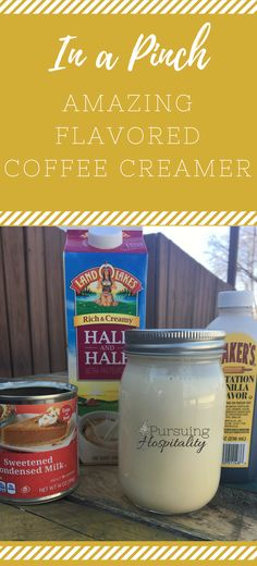 DIY Flavored Coffee Creamer is a great recipe to keep on hand for that moment when you realize you have no creamer and your guest are about to arrive. DIY Flavored Coffee Creamer is so easy to make. Homemade Coffee Creamer, Wicked Good, How To Order Coffee, Coffee Recipes, Drink Recipes, Dinner Recipes, Dessert Recipes, Best Coffee, Coffee Coffee