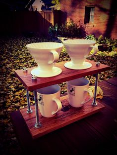 · Pour-Over Coffee Station for Two ·