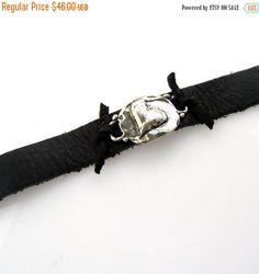 SALE Artisan Heart Jewelry Bracelet Silver by YouCanQuoteMeOnThat