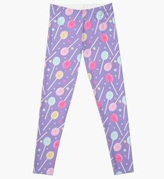 'Candy Dresses' Leggings by proeinstein