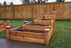 vertical container garden box | tiered planter garden a tiered vertical garden is just a more complex ...