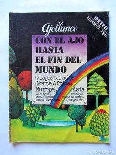 Coleccionismo de Revistas y Periódicos: AJOBLANCO LOTE DE 28 REVISTAS (1975/1977/1978+ NUEVA ÉPOCA (1988/1992)VER FOTOS Y DESCRIPCIÓN - Foto 11 - 67251977