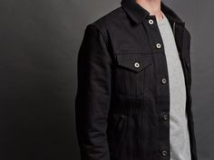 Type 3s Denim Jacket ~ Double Black – 3sixteen, same jacket as before....but, cooler.