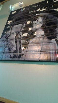 Repurpose your old vhs tapes.