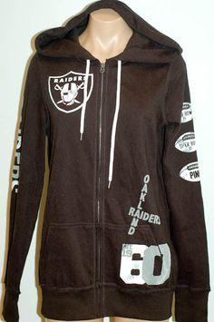 PINK Victoria's Secret NFL Oakland Raiders hoodie.