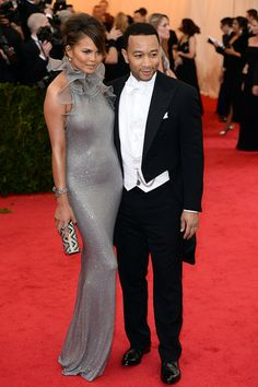 John Legend and Chrissy Teigen #MetGala