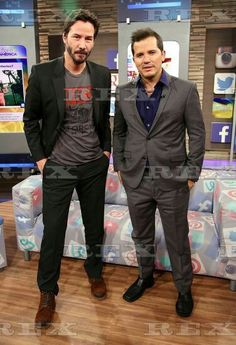 Keanu ♡♥ Reeves & John Leguizamo