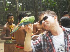 NEYP PNG dans la tribu des Indiens Pataxós à Santa Cruz Cabralia à Bahia - Santa Cruz Cabrália em Bahia