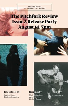 The Pitchfork Review Issue 3 Release Party