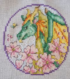 The May character of the Fantasy Sal was released today  #needlepoint