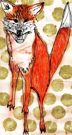 Childrens poem fox 3