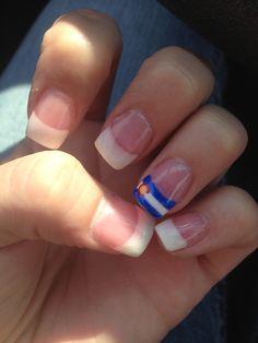 colorado flag nails