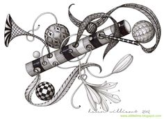 I continue to be amazed by Helen Williams of A Little Lime work Tangle Doodle, Tangle Art, Zen Doodle, Doodle Art, Doodle Ideas, Doodle Inspiration, Zentangle Drawings, Doodles Zentangles, Zentangle Patterns