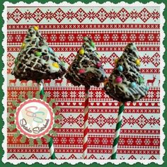 Christmas Tree Pops - Spatula Sisterhood