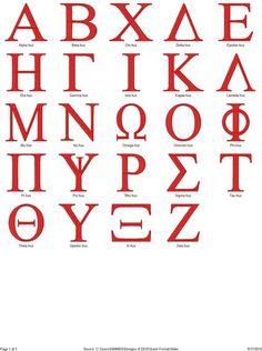 Greek Letters  Greek Fonts  Greek Font Sorority And Fonts