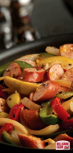 Sweet and savory flavors stacked into one simple skillet. Try the Cheddarwurst Smoked Sausage & Apple Skillet tonight. Find the full recipe here.