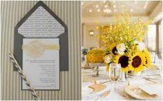 decoração de casamento amarelo com girassol - Pesquisa Google