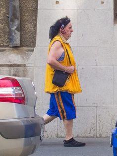 Marian Nistor on the streets of Bucharest.   (via Facebook, Cristian Vasile)
