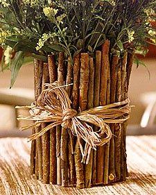 Twig Vase - Martha Stewart Crafting