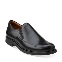 fd1bd077743a Clarks Mens Drexlar Easy In Black Leather