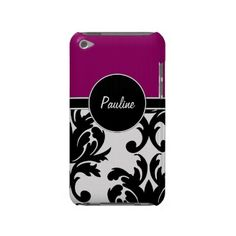 Monogram iPod Touch Case by idesign Cafe